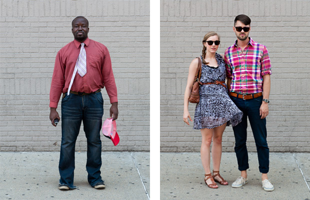New Yorkers by Christian Reister