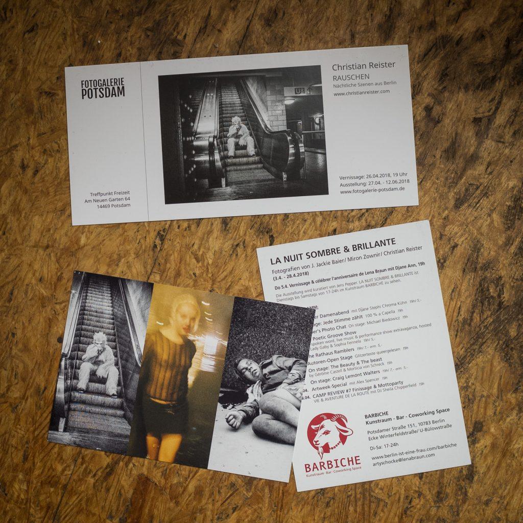 Einladungen Ausstellungen Frühjahr 2018