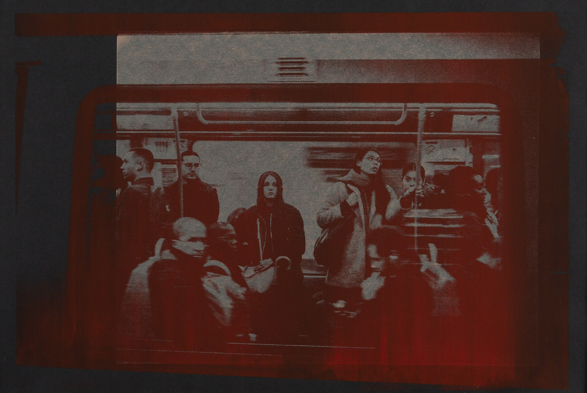 Paris Metro (2019/2020) - Photographic Silkscreen, 6/15, Edition